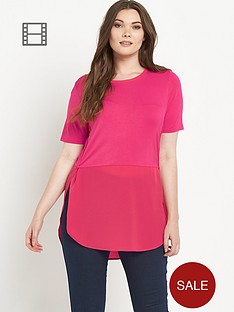 so-fabulous-jersey-chiffon-mix-top