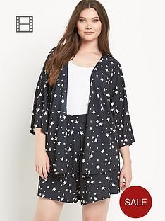 so-fabulous-star-print-jersey-kimono-jacket