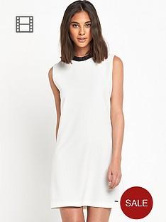 replay-pu-trim-mono-shift-dress
