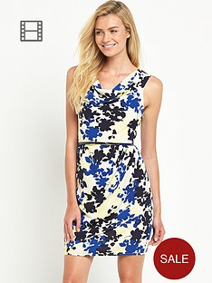 oasis-shadow-floral-lola-cowl-crepe-dress