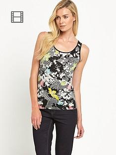 oasis-falling-leaf-print-vest