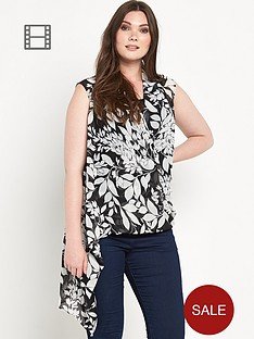 lovedrobe-curve-cross-front-blouse-with-cami