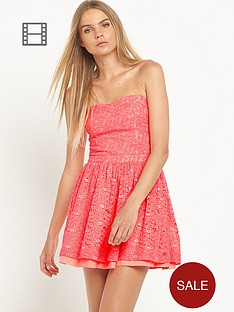 superdry-50s-dovecot-sparkle-dress-fluro-coral