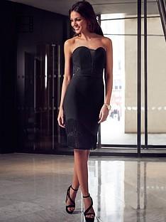 lipsy-michelle-keegan-tassel-bandeau-dress
