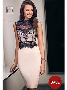 lipsy-michelle-keegan-lace-high-neck-bodycon