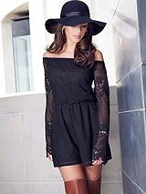 Michelle Keegan Lace Playsuit