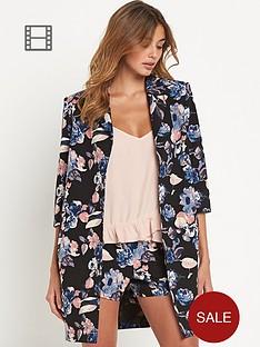 girls-on-film-printed-blazer