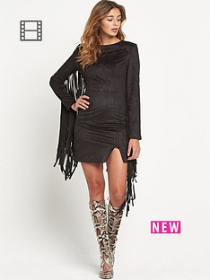 lavish-alice-faux-suede-fringed-detail-mini-dress