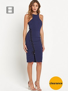 lavish-alice-asymmetric-lace-up-detail-bodycon-midi-dress