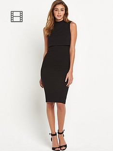 lipsy-rib-2-in-1-dress