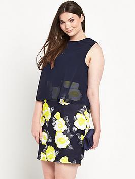 AX PARIS CURVE 2-in-1 Dress