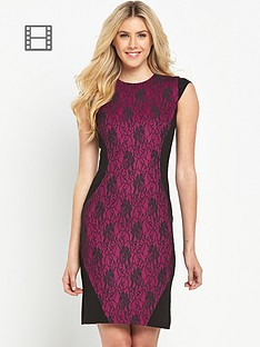 south-bonded-lace-panelled-pencil-dress