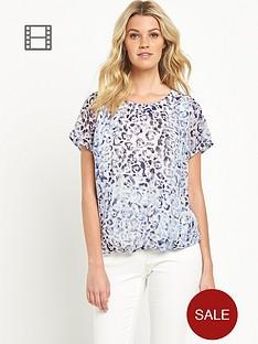 south-bubble-hem-blouse