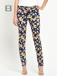south-slim-printed-floral-trousers