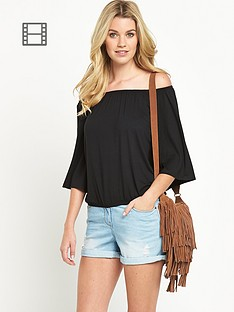 south-jersey-bell-sleeve-top