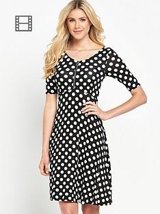 south-jersey-spot-zip-front-skater-dress