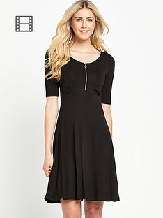 south-zip-front-skater-dress