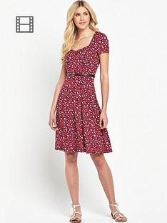 south-animal-print-tea-dress