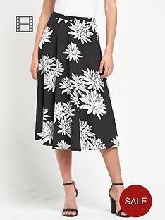definitions-mono-print-full-skirt