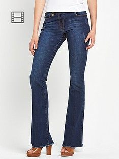 south-premium-raw-hem-kickflare-jeans