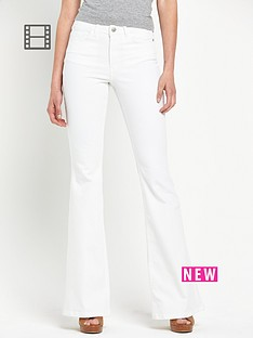 south-kickflare-jeans-white