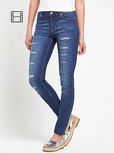 south-all-over-ripped-skinny-jeans