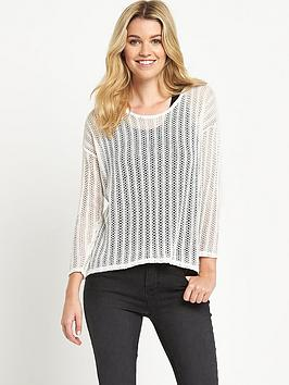 South 2-in-1 Pointelle Jumper with Vest