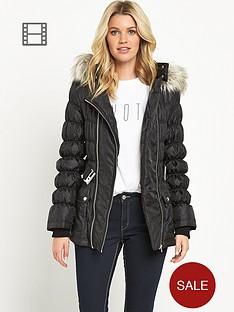 south-petite-double-zip-padded-coat