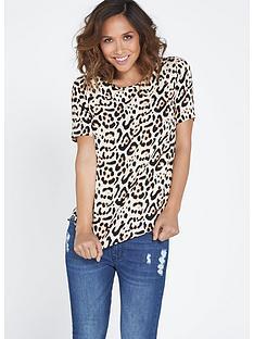 myleene-klass-leopard-print-scallop-blouse