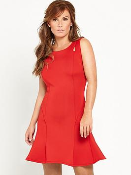 Coleen Keyhole Scuba Dress