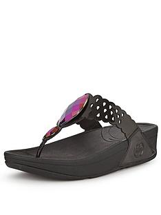 fitflop-bijoo-black-toe-post-sandals