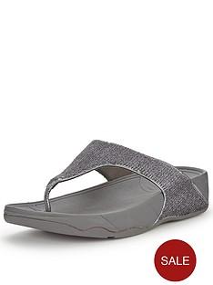 fitflop-lulu-superglitz-silver-sandals