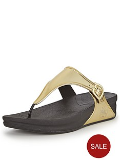 fitflop-superjelly-gold-metallic-sandals