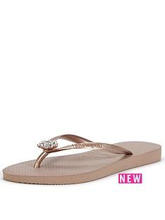 havaianas-embellished-rose-gold-flip-flops