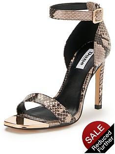 dune-maggi-snake-print-two-part-sandals