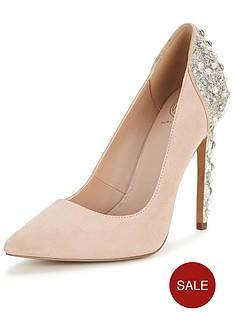 kg-hijack-suede-embellished-court-shoes