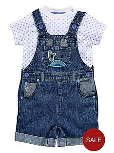 ladybird-baby-boys-dog-novelty-dungarees-with-t-shirt