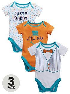 ladybird-baby-boys-little-man-bodysuits-3-pack