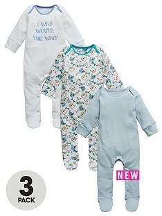 ladybird-baby-boys-dog-sleepsuits-3-pack