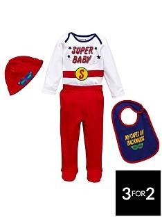 ladybird-baby-boys-superman-novelty-set-4-piece