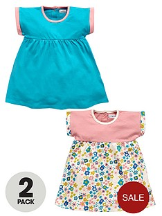 ladybird-baby-girls-floral-jersey-dresses-2-pack
