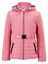 Short Belted Quilted Jacket