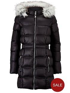 freespirit-girls-longline-padded-coat-with-faux-fur-hood