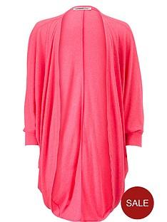 freespirit-girls-neon-jersey-cocoon-cardigan