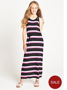 freespirit-girls-stripe-maxi-dress