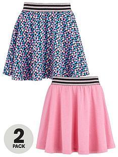 freespirit-girls-skater-skirts-with-lurex-elastic-waistbands-2-pack