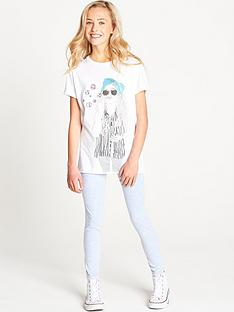 freespirit-girls-glitter-print-longline-t-shirt-and-jeggings-set-2-piece