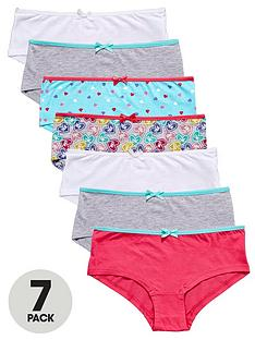 freespirit-girls-love-heart-shorties-7-pack