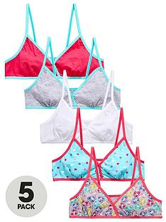 freespirit-girls-love-heart-starter-bras-5-pack