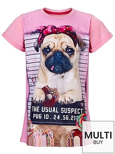 freespirit-girls-embellished-pink-pug-t-shirt